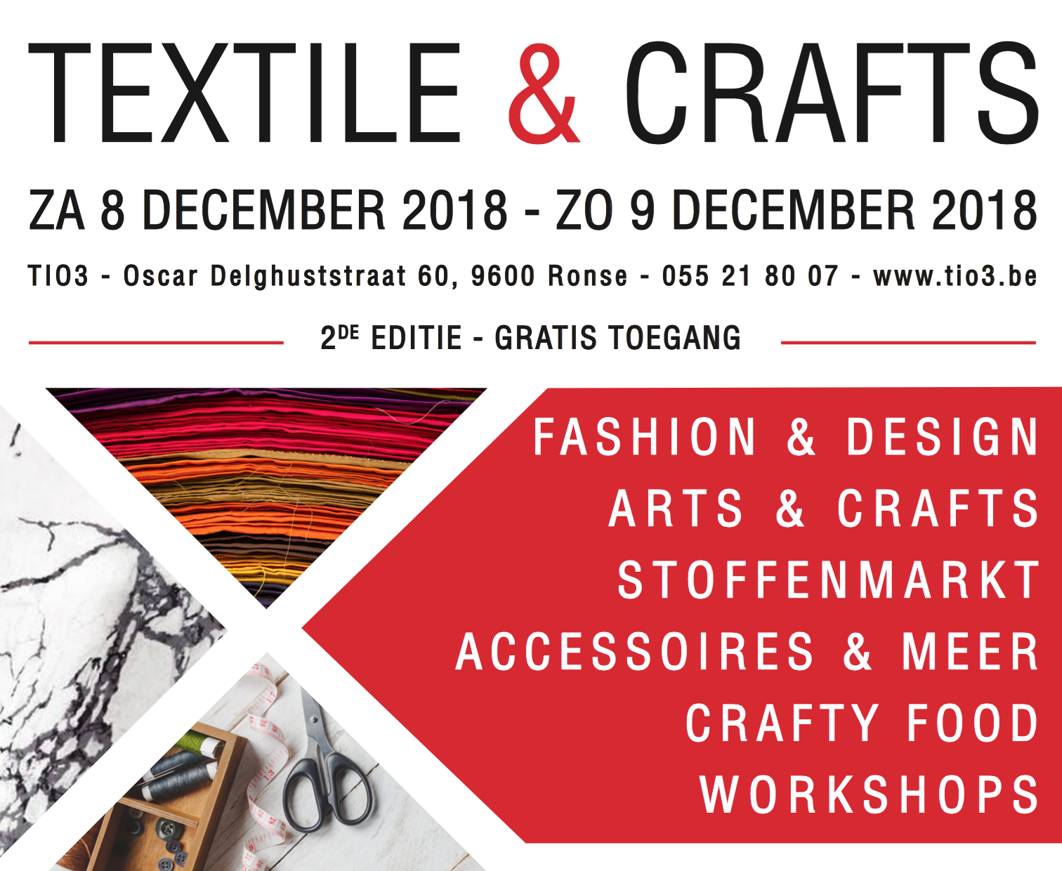 textile and crafts beurs ronse tio3