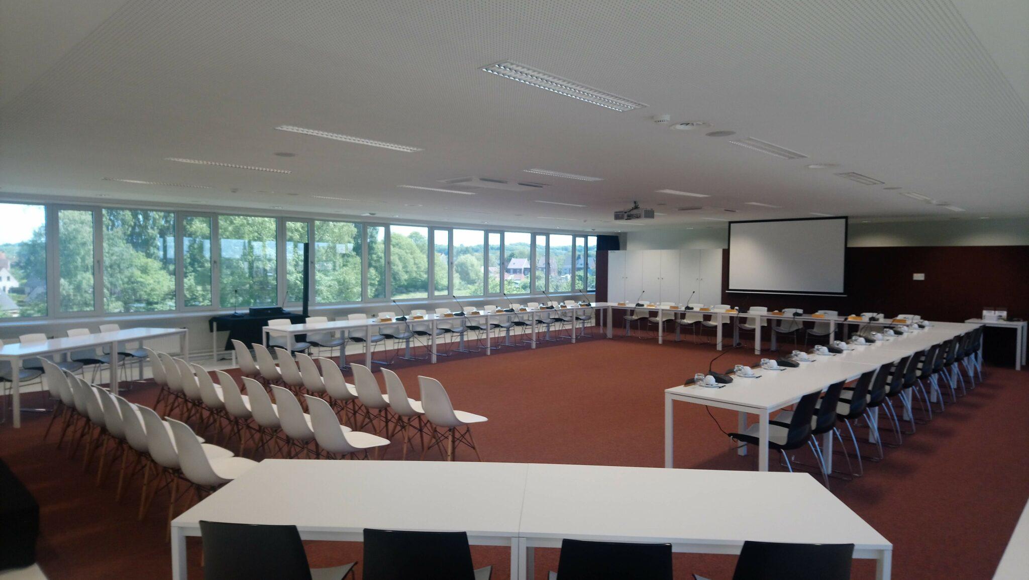 vergaderzaal oost-vlaanderen